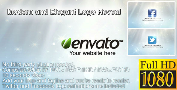 After Effects Project - VideoHive Modern and Elegant Logo Reveal 2237968