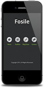 Fosile Mobile | HTML5 & CSS3 And iWebApp