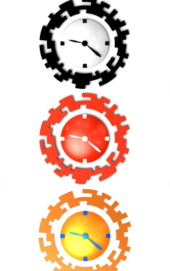 3DOcean Clock 253579
