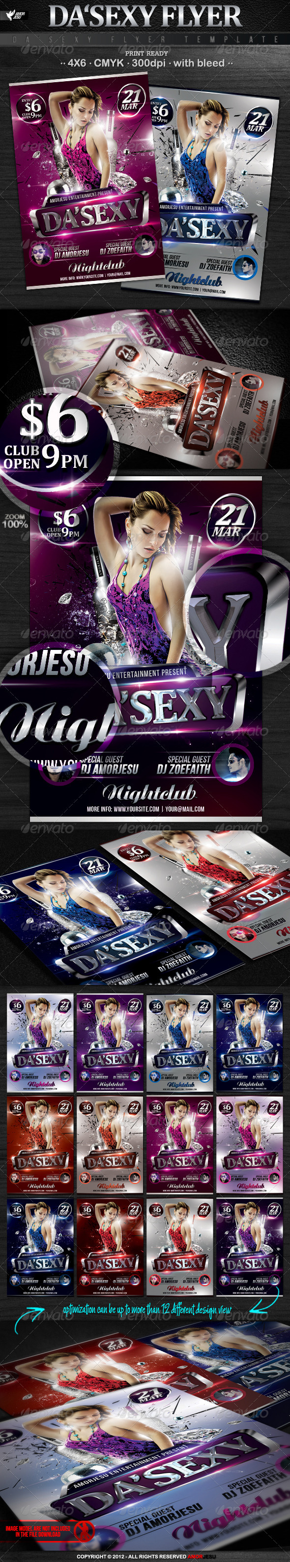Da Sexy Flyer Template - Events Flyers