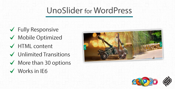 CodeCanyon UnoSlider for WP Responsive Touch Enabled Slider 2239498