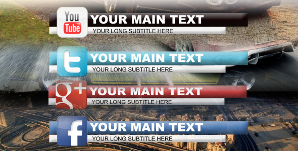 VideoHive social network lower thirds 2239686