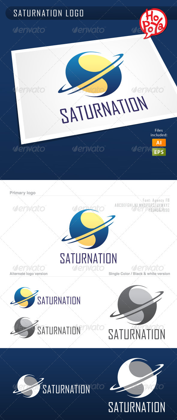 Saturnation Logo - Objects Logo Templates