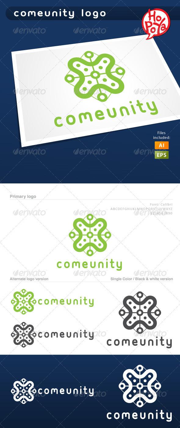 Comeunity Logo - Symbols Logo Templates