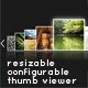 XML fully resizable&conf. thumbnail slider/rotator - ActiveDen Item for Sale