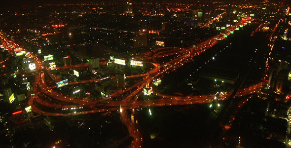 Time Lapse Bangkok Traffic