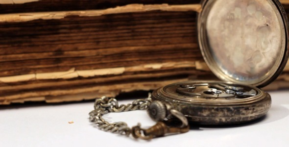 VideoHive Vintage Watch And Old Book 2241861