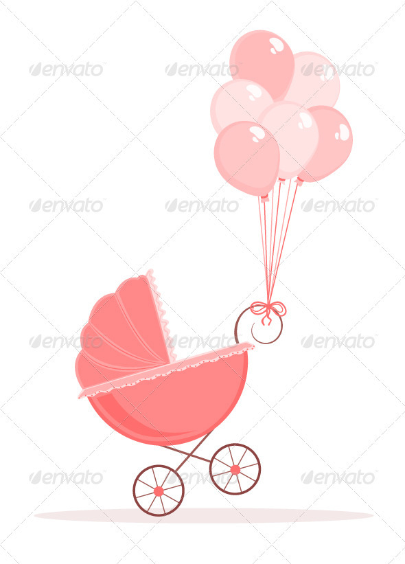 GraphicRiver Baby Stroller 2242323