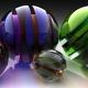Galss Spheres effect