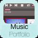 Music Portfolio Template - CodeCanyon Item for Sale