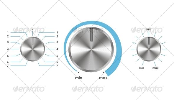 Vector volume balance knobs - Media Technology