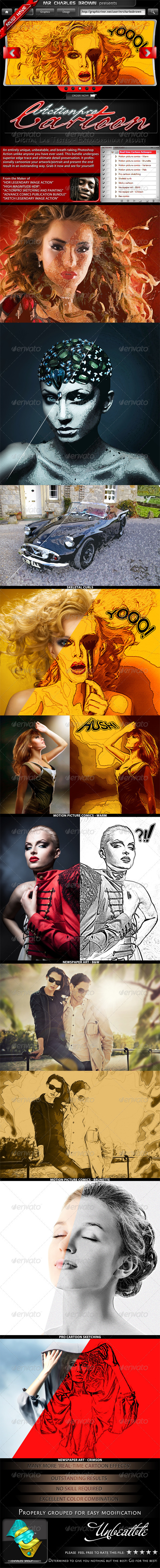 GraphicRiver Real-time Cartoon Actionpro 2243840