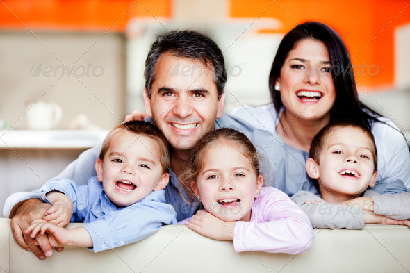 Stock Photo - PhotoDune Smiley family 2243924