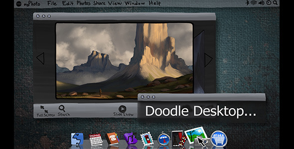 VideoHive Doodle Operating System Portfolio Slideshow 2224163