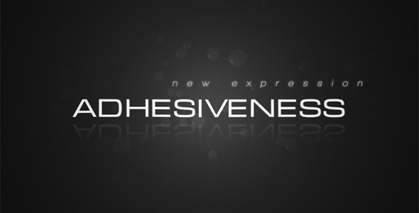 After Effects Project - VideoHive Adhesiveness 2244873