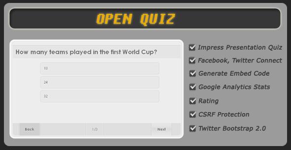 CodeCanyon Open Quiz 1885203