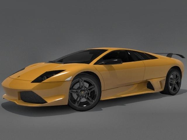3DOcean Lamborghini Murcielago LP-640 2246775