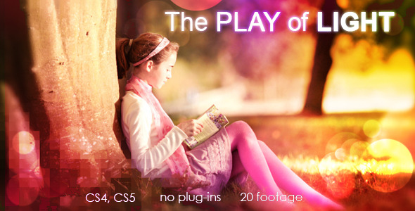 After Effects Project - VideoHive The play of light 2247118