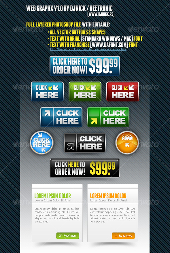 GraphicRiver Web Graphics 1 83895