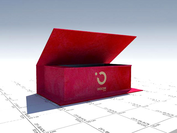 wine velvet box - 3DOcean Item for Sale