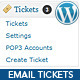 WordPress Email Ticket Support Plugin - WorldWideScripts.net Item for Sale