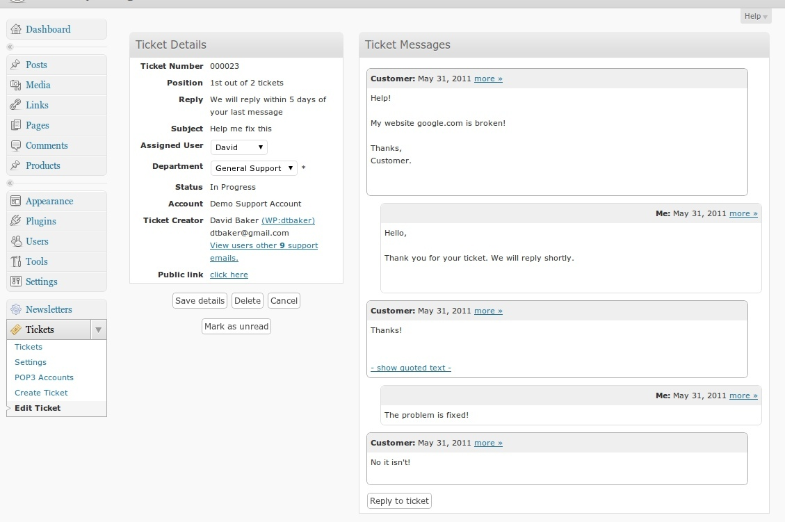 php script preview