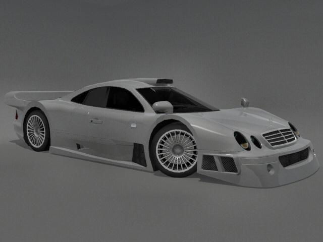 3DOcean Mercedes-Benz CLK-GTR 2249924