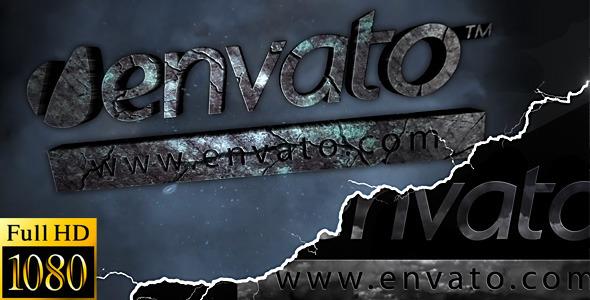 VideoHive Stormy Stone Logo 2250390
