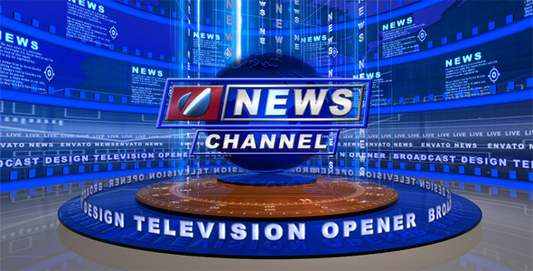After Effects Project - VideoHive Broadcast Design Tv News Open 2251468