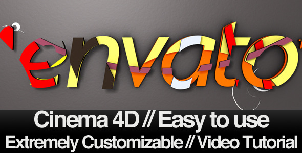 VideoHive Sliced Inside and Out C4D Revealer 2251502
