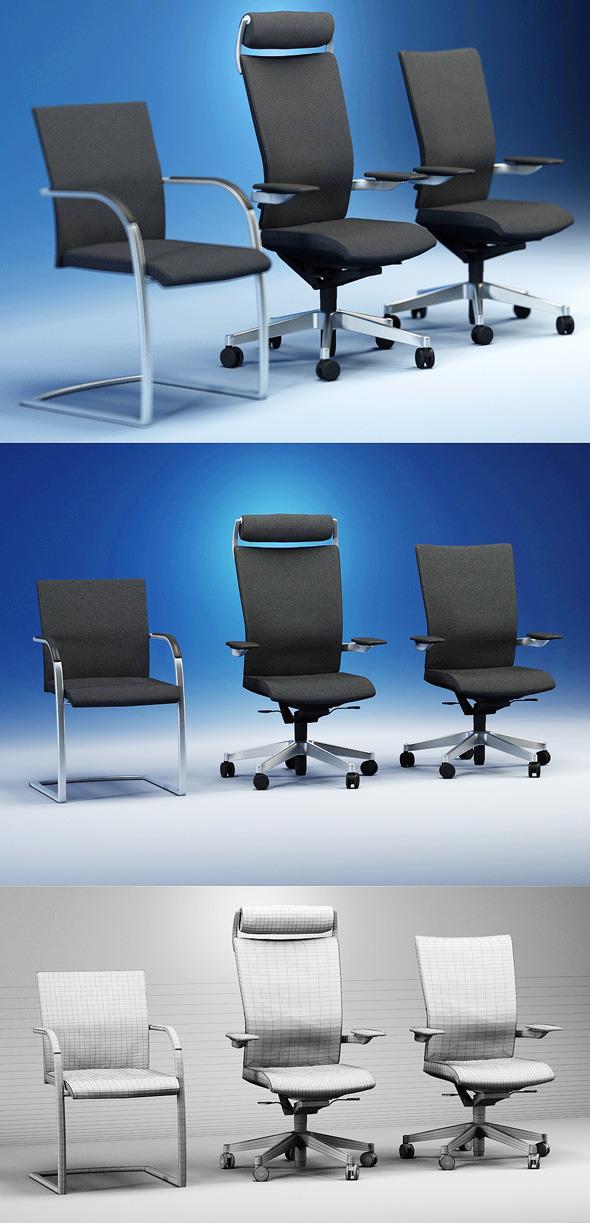 3DOcean Quality 3dmodel of modern chairs Orbit Kloeber 2251814