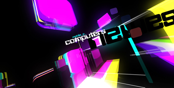 After Effects Project - VideoHive Hi-tech color cubes 2245159