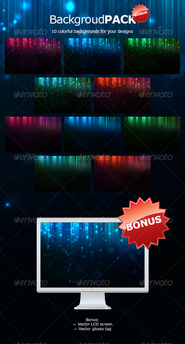 GraphicRiver Web Background Pack 84085