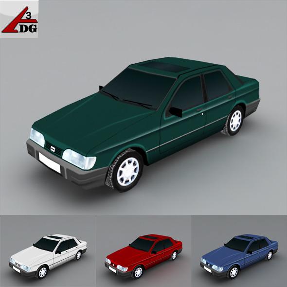 Fort_Sierra 1992. A model for mobile gaming - 3DOcean Item for Sale