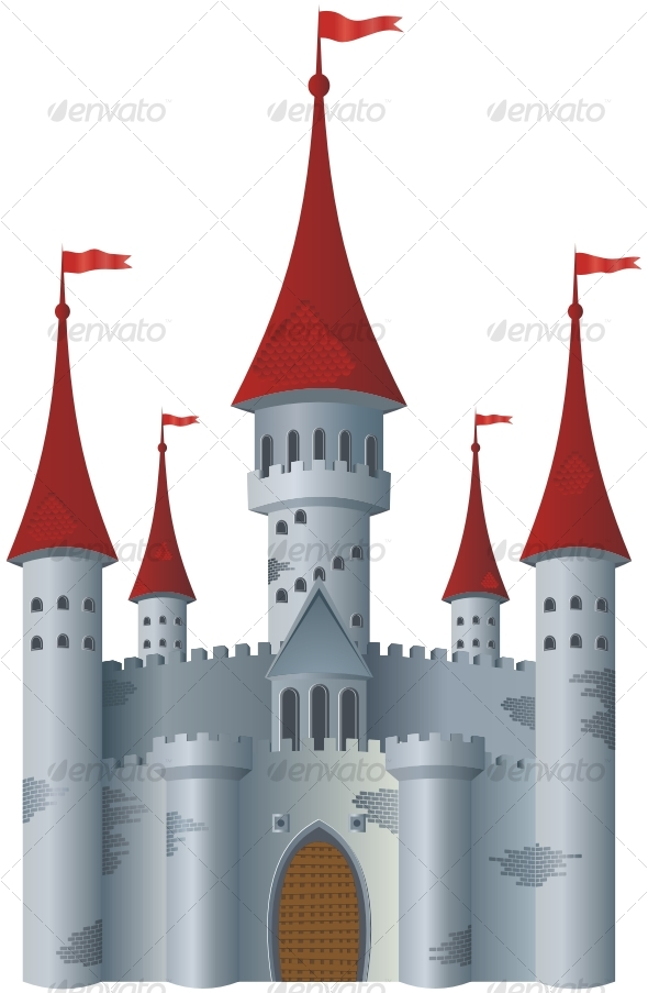 Fairy-tale castle - Buildings Objects