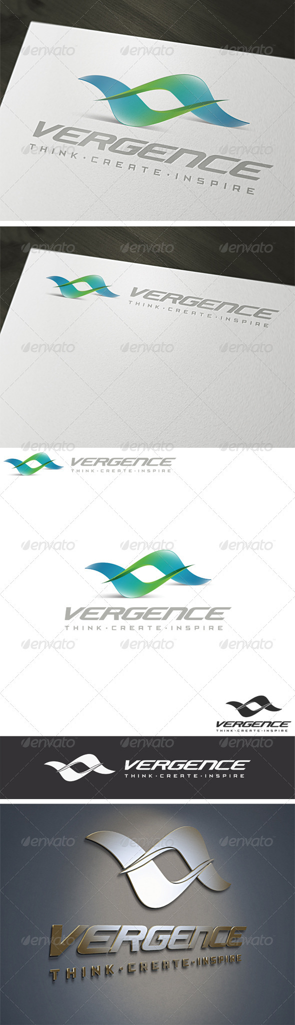 GraphicRiver 3D Vergence Logo Template 2237325