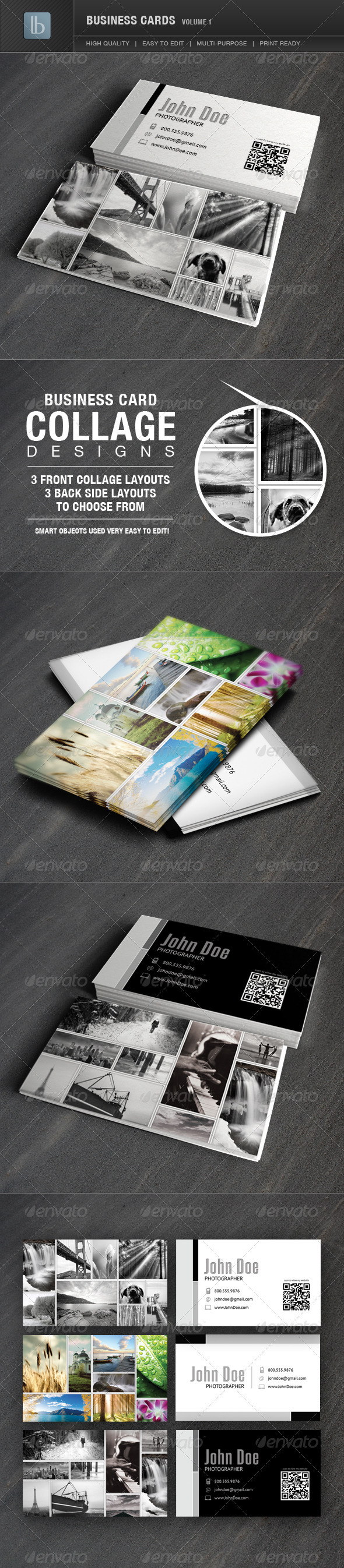 GraphicRiver Business Cards Volume 1 2257352