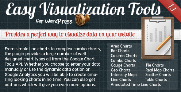 CodeCanyon Easy Visualization Tools for WordPress 2163650