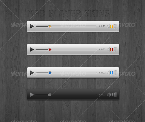 GraphicRiver MP3 PLAYER SKINS 83931