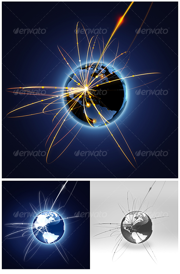 GraphicRiver Global business 74179