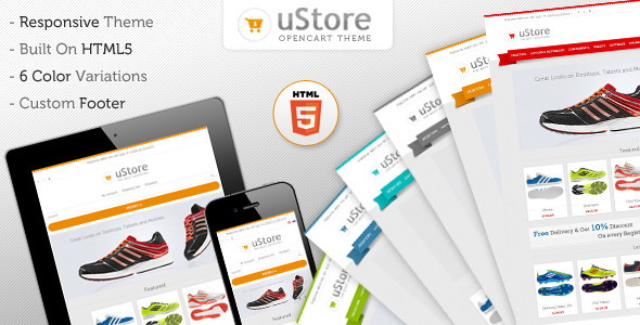uStore Responsive Premium OpenCart Theme - ThemeForest Item for Sale
