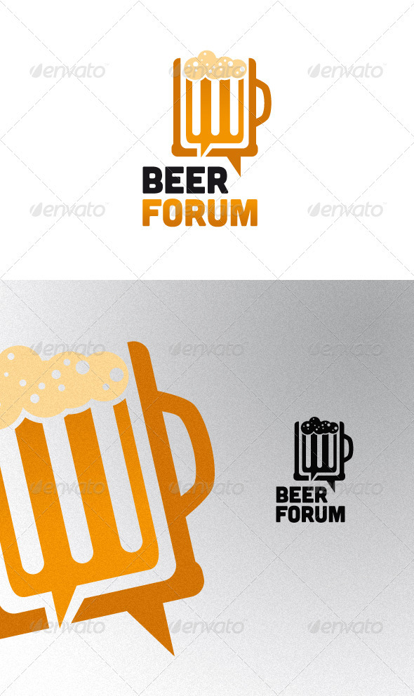 Beer Forum Logo Template