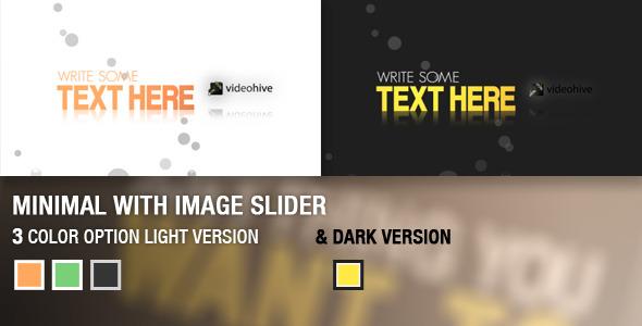 Minimal Image Slider