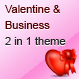 Valentine and Business – Email Template – 2 Layout  Free Download
