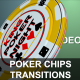 Poker Chips Transitions HD Pack - VideoHive Item for Sale