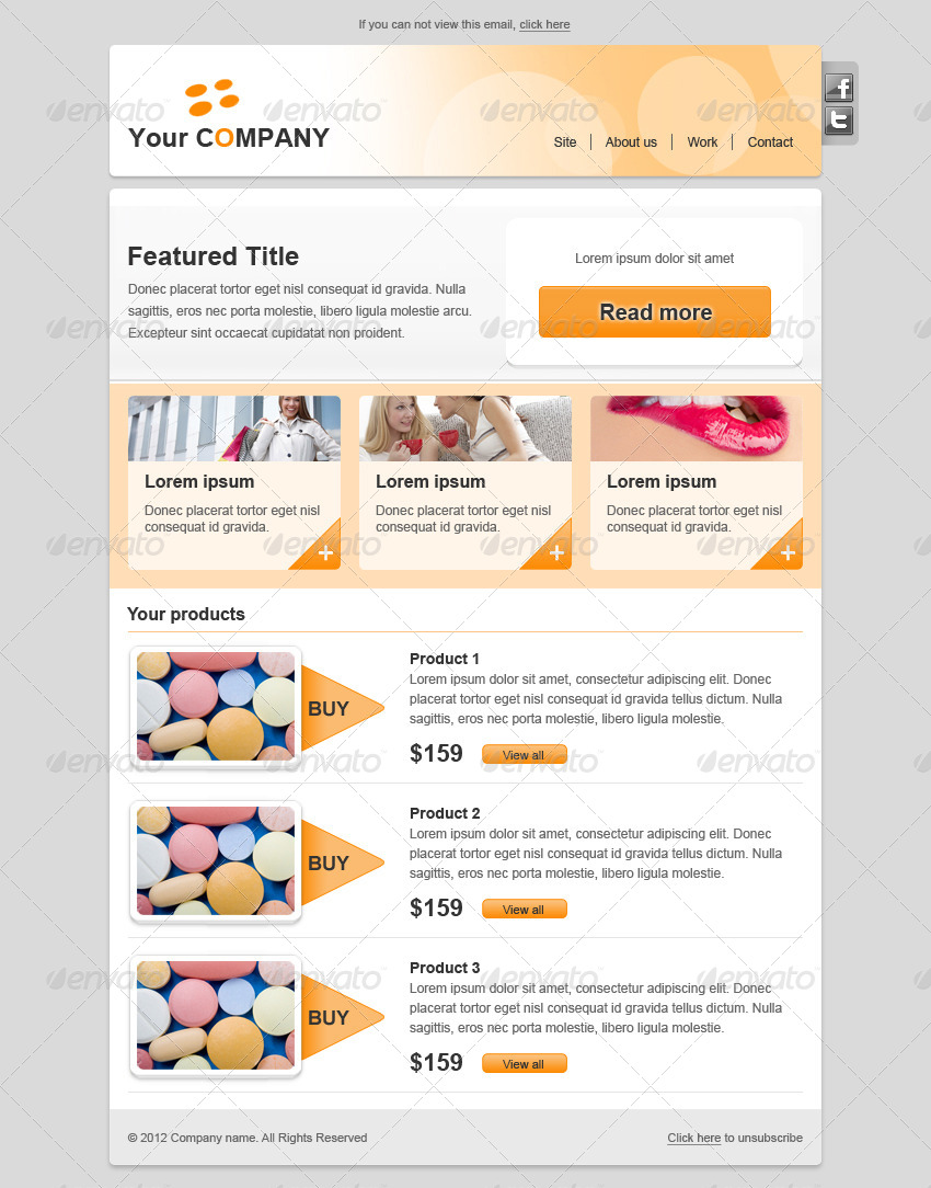 Colors E Newsletter By Martinmako Graphicriver