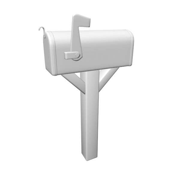 Mail Box 01 - 3DOcean Item for Sale