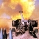 Heavy Artillery Tank Shot