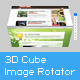 XML 3D Cube Image Rotator - ActiveDen Item for Sale
