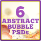 Abstract Bubbles Backgrounds Photoshop Set - GraphicRiver Item for Sale